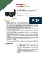 Canon Eos 60d Kit2