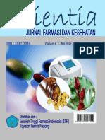 Urnal Scientia Vol 1 No 2 Agustus 2011