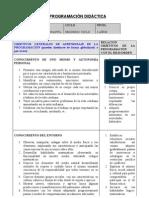 programacion anual 3 años 09-10