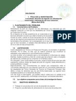 ZOO Sociología Informe Final de Pollos Carmen