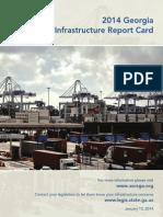 2014 Georgia Infrastructure Report Card