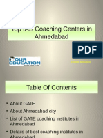 Top GATE Coaching Centers in Ahmedabad