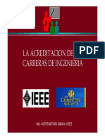 Acreditacion Carreras Ingeniería