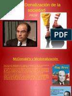La McDonalización de La Sociedad 2