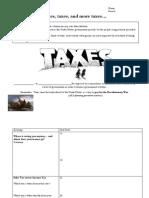 tax activity