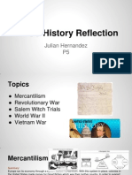 ap us history reflection - julian hernandez