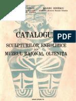 Silvia Marinescu Bilcu Barbu Ionescu Catalogul Sculpturilor Eneolitice Din Muzeul Raional Oltenita 1967