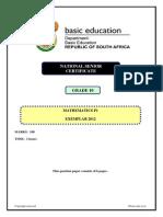 Gr 10 2012 November - Mathematics Paper 1 Exemplar