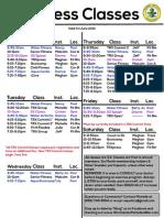 Fitness Class List 6 14