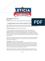 5-27 Business Leaders for LVP Barrios and Ligon
