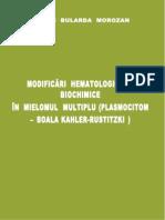 Modificari Hematologice Si Biochimice in Mielomul Multiplu