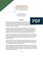 Constitución Apostólica Sapientia