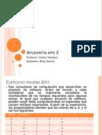 Ayudantia Apo2 Redes Ejercicios Prueba