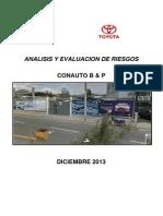 Analisis de Peligros y Riesgos Toyota Conauto b & p.