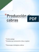 Producción de Cabras