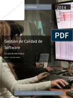 Gestion de Calidad de Software