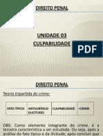 Culpabilidade - Unidade 03