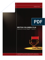 British Columbia Film Service Plan 2008/9 - 2010/11