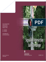 EUROPA Signalized Intersection Safety in Europe