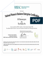 The Media Pro WBENC Certified WBE