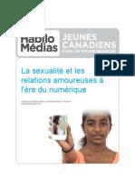 La sexualité et les relations amoureuses à l'ère du numérique