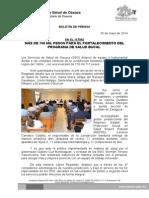 26/05/14 Fortalecimiento Del Programa de Salud Bucal-Istmo