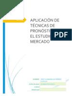 Aplicación de Técnicas de Pronóstico en El Estudio de Mercado