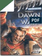 Warhammer 40000 - Dawn of War - Manual - PC
