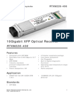 10Gigabit XFP Optical Receiver