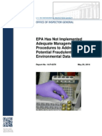 EPA Fraud