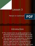 Person in Community
