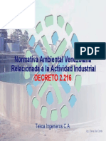 06 Normativa Ambiental Venezolana 2216