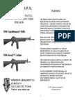 Robinson M96 Expeditionary Rifle User Manual
