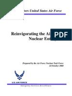 Reinvigorating the Air Force Nuclear Enterprise (2008)