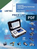 20091009 Price List Orbitec Sales Rent English 1mb (2)