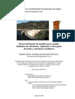 Desenvolvimento de Modelos Para Análise DINAMICA de ESTRUTURAS.