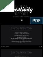 Digital Creativity Report 100 Inspiring Case Studies for 2014