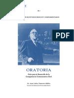 ORATORIA. Guia de Aprendizaje 2014-1
