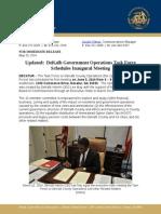 05-29-14 Updated- DeKalb Operations Task Force Convenes