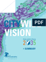 Philadelphia2035 Citywide Vision Summary