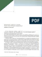 Democracia, Agência e Estado Odonnel Luis Fernando Ayerbe