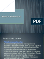 Relevo Submarino