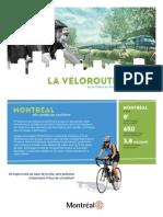 Le projet de véloroute de la Ville de Montréal
