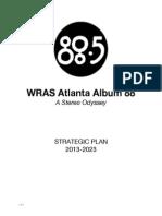 WRAS Atlanta Album 88 Strategic Plan 2013-2023 v1.1