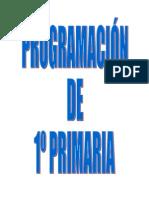 Programación 1º Primaria