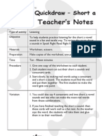 Phonics - Short a Worksheet