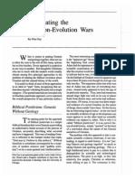 Negotiating the Creation-Evolution Wars