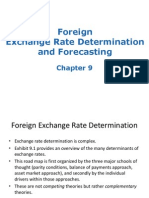5.1Foreign Exchange Rate Determination and Forecasting