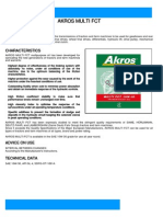 Akros Multi FCT 10W-30 Transmission Oil