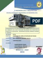Facultad de Ingenieria Civil y Arquitectura